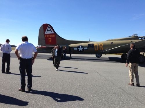 Geoffrey and the B-17